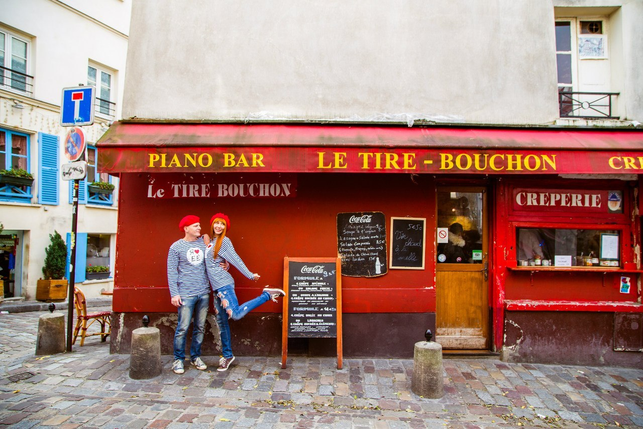 Monmartre Love Story Photoshoot